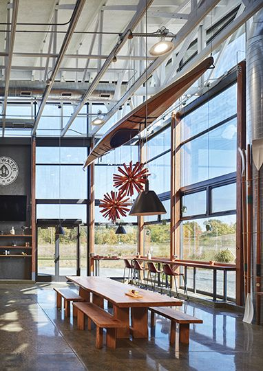 River St Joe Brewery by Moss Design – Interior Seating